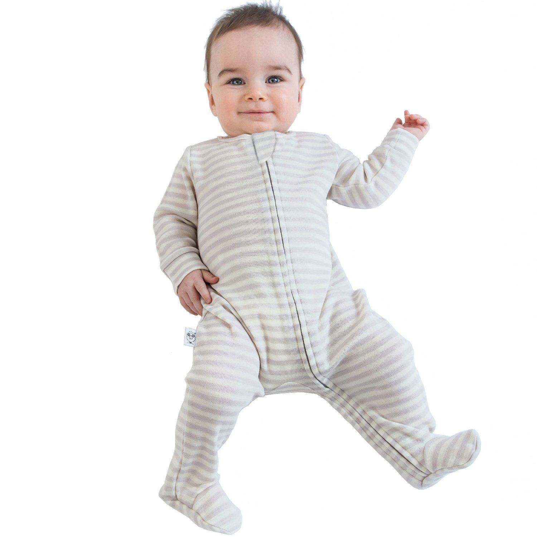 921b780a7 ... Woolino Baby Footie Pajama Sleeper - Dream - Size: 12-18 Months ...