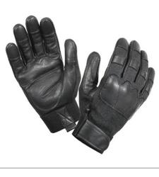 Cut and Flame Resistant Tactical Gloves - Black - Size: X-Large