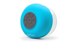 Ontek Bluetooth Shower Speaker with Mic - Turquoise