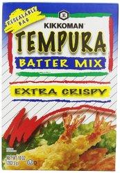 Kikkoman Tempura Batter Mix (Pack of 10-ounce, 6