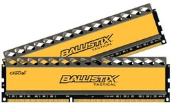 Ballistix Tactical 2-Pc 8GB DDR3 Desktop Memory (BLT2KIT8G3D1608DT1TX0)