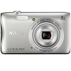 Nikon COOLPIX S3700 20.1MP Digital Camera - Silver (26478)