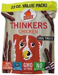 Plato Pet Treats Natural Pet Treats, Chicken