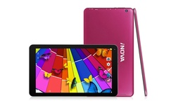 "iNova 8GB 10.1"" Android 4.4 Tablet with Keyboard Case - Red - (EX1080)"
