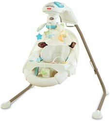 Fisher-Price Cradle 'n Swing with AC Adapter - My Little Lamb (Y5708)