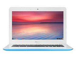 """ASUS Chromebook 13"""" 4GB 16GB Chrome OS  - Light Blue (C300MA-DH02-LB)"""