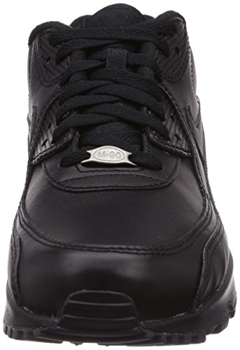 get cheap 9a5d3 743bc Nike Mens Air Max 90 Leather Running Shoes Black/Black 302519-001 Size 11 -  Check Back Soon