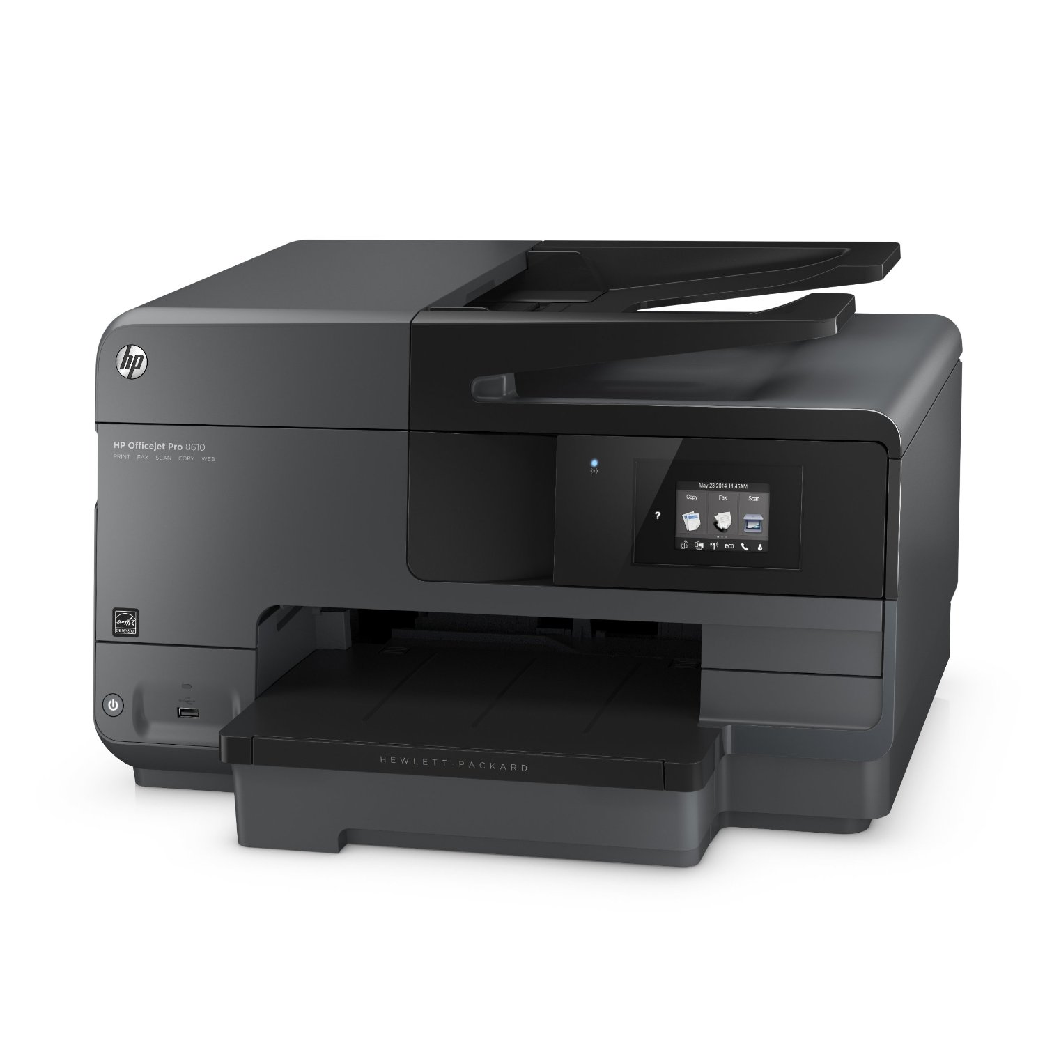 HP Officejet Pro 8610 Inkjet Multifunction Color Printer (A7F64A#B1H) ...