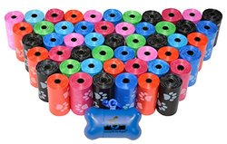 Pet Waste Bags: Rainbow (960-count)