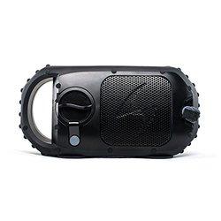 100% Waterproof IP68 Portable Outdoor 24W Bluetooth Speaker: Black