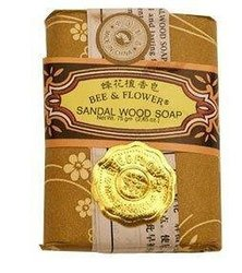 Soap-Sandalwood Bee and Flower Soaps 2.65 oz. Bar