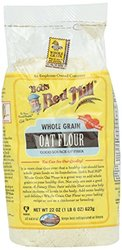 Bob's Red Mill Whole Grain Oat Flour 8.2 x, 22 oz