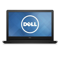 "Dell Inspiron 15 5000 15-5551 15.6"" Touchscreen (TrueLife) Notebook - Intel Pentium N3540 Quad-core (4 Core) 2.16 GHz - Black - 4 GB DDR3L SDRAM RAM - 500 GB HDD - DVD-Writer - Intel HD Graphics DDR3L SDRAM - Windows 8.1 - 1366 x 768 16:9 Display - IEEE 8"