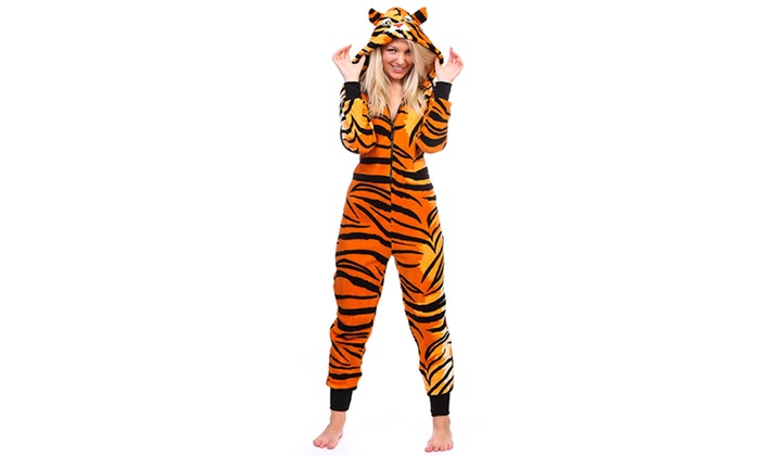 722f929994 Totally Pink Women s Junior Onesies - Tiger - Size  Xlarge - Check ...