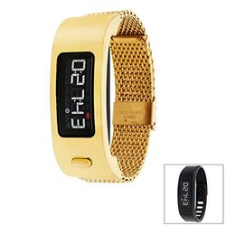 Garmin Vivofit 2 Signature Series Set: Gold