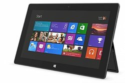 "Microsoft Surface Pro 10.6"" Tablet 64GB Win 8 - Dark Titanium(9SR00001-RB)"