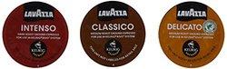 Lavazza Sampler Pack for Keurig Rivo 3 Flavors 10 Pods Each 30 Count
