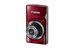 Canon PowerShot ELPH160 20MP 8x Optical Zoom Digital Camera - Red