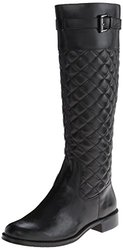A2 by Aerosols Ladies High Ride Boots - Black Quilted - Size: 7