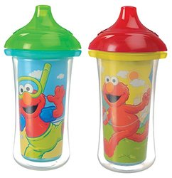 Munchkin 2 Count Sesame Street Click Lock Insulated Sippy Cup - 9 Ounce 660614
