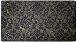 Wellness Mat: Chain Damask-Sage/Chocolate