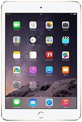 "Apple iPad Mini 3 7.9"""" Tablet 128GB WiFi Only - Gold/White (MGYK2LLA)"" 730839"