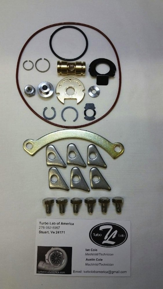 Turbo Lab Of America Audi VW K03 KO3 KO4 K04 Turbo Rebuild Kit - Check Back  Soon