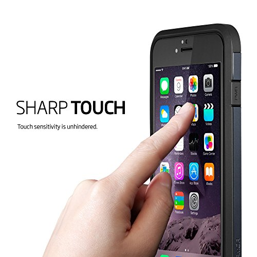 best website 3d786 48b1c Spigen Full Cover Glass Screen Protector for iPhone 6 Plus - White ...