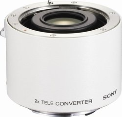 Sony 2.0x Teleconverter Lens for Sony Alpha Digital SLR Camera