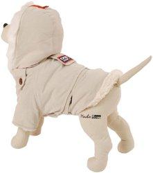 "Petego Dogrich Alaskan Cream Winter Dog Coat 10""x17"""