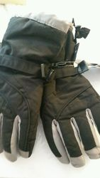 Grand Sierra Women's Tusser Snowboard Gloves - Black - Size: Medium
