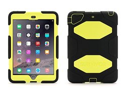 Survivor All-Terrain Rugged Case: iPad mini 1/2/3/Black-Citron