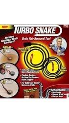 Turbo Snake Drain Opener: 3 piece set