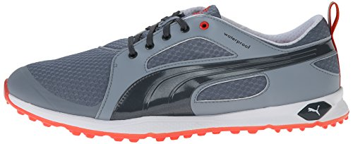 75c8e91b0014 ... PUMA Men s Biofly Mesh Golf Shoe - Tradewinds Turbulence Puma Red ...