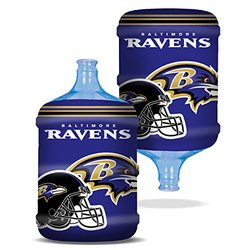 NFL Large Bottle Skinz Water Cooler Cover: Baltimore Ravens