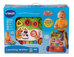 VTech Kids' Sit-to-Stand Learning Walker Toy