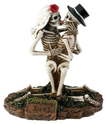 Summit SS-Y-7725 Love Never Dies Collectible Skeleton Sculpture