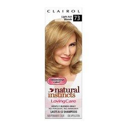 Clairol Natural Instincts Loving Care Color 07 Light Ash Blonde (Pack of 3