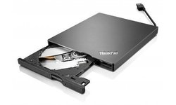 Lenovo USB UltraSlim DVD Burner - Black (4XA0E97775)