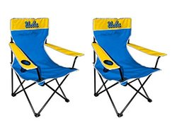 2 Pack Of NCAA Kickoff Chairs: UCLA
