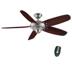 "Home Decorators Collection 26656 Altura 56"" Ceiling Fan - Brushed Nickel"