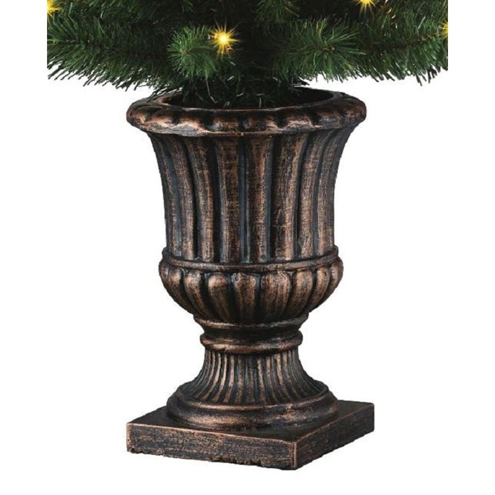 potted artificial christmas tree with 50 clear lights - Potted Artificial Christmas Trees