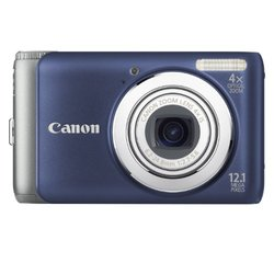 Canon PowerShot 12.1MP Digital Camera - Blue (A3100IS)