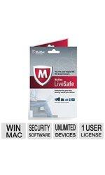 McAfee 2014 LiveSafe Antivirus (MLS14ETD1RAA)