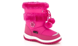 Snow Tec Girl's Snow Boots 6 Blizz - Fuschia - Size: 13