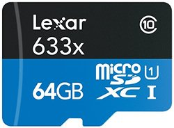 Lexar Hp Microsdxc 64gb Rdr Bl Nl 633x