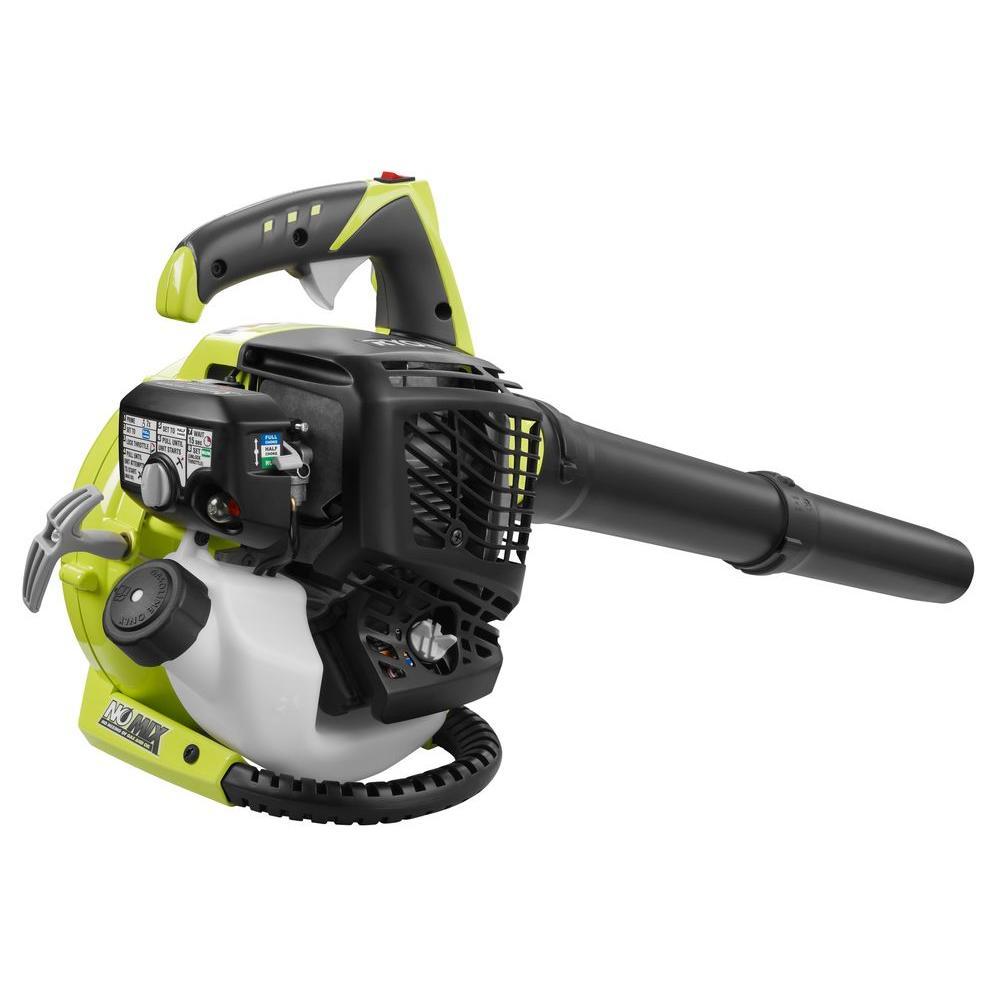 ... Ryobi 155 MPH 400 CFM 30cc 4-Cycle Gas Handheld Leaf Blower (RY09466A)  ...