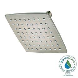 Pfister Venturi 1-Spray 6 in. Fixed Shower Head - Brushed Nickel