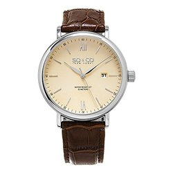 So & Co New York Men's Classic Dress Watch Collection - GP16095 Brown