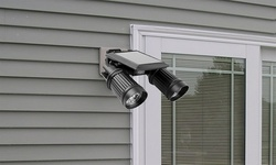 GPCT Solar PIR Activated Twin-Head Solar Security Light